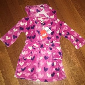 Size 4/5 NWT Hatley Toddler Girls Robe